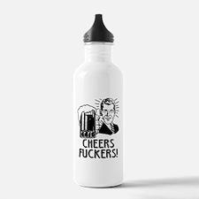 Irish - Cheers Fuckers Water Bottle