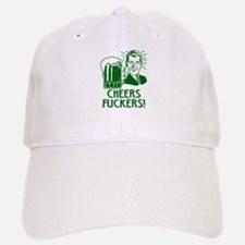 Irish - Cheers Fuckers Baseball Baseball Cap