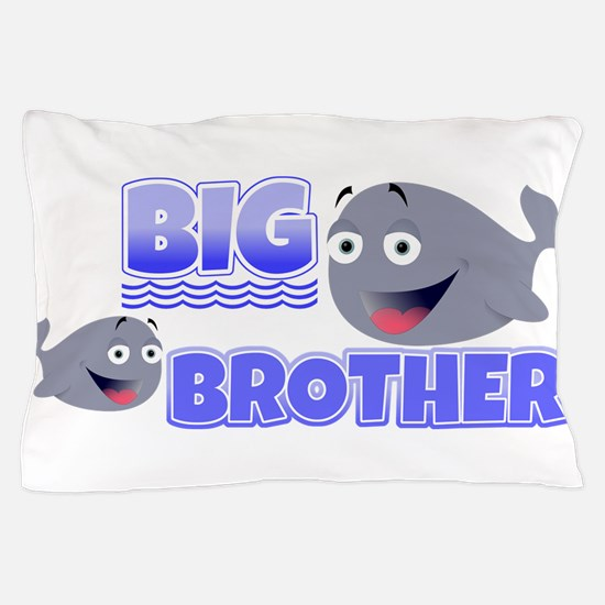 Big Brother Whales Pillow Case