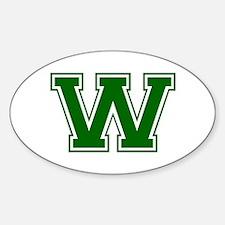 W-Var d green Decal