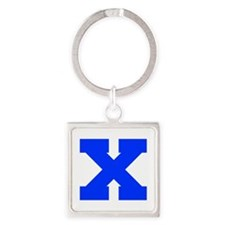 X-Fre blue Keychains