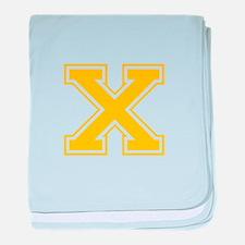 X-Var gold baby blanket