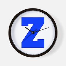 Z-Fre blue Wall Clock