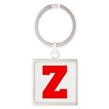 Z-Fre red Keychains