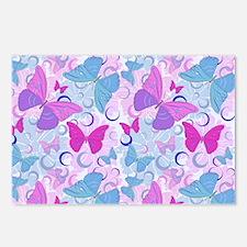 Butterflies in Flight- Postcards (Package of 8)