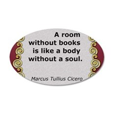 aroomwithoutbooks.jpg Wall Decal