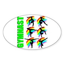 GYMNAST CHICK Decal