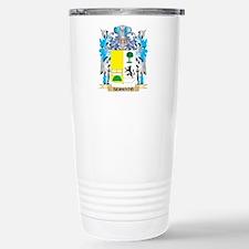 Serrato Coat of Arms - Travel Mug