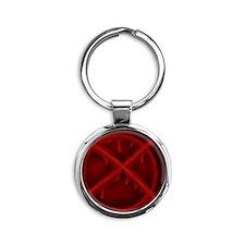 Slenderman's Symbol Round Keychain
