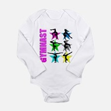 GYMNAST CHICK Long Sleeve Infant Bodysuit