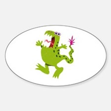 screaming Dino Decal