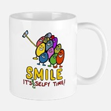 smile! It's Selfie Time! Mugs