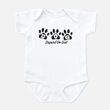 Black DOG Infant Bodysuit