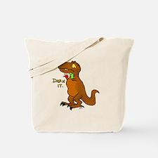 Puppeteer Tyrannosaurus Tote Bag