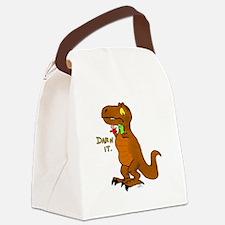 Puppeteer Tyrannosaurus Canvas Lunch Bag