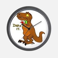 Puppeteer Tyrannosaurus Wall Clock