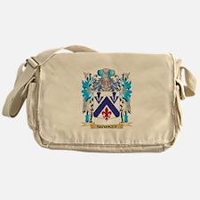 Sharkey Coat of Arms - Family Crest Messenger Bag