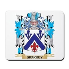 Sharkey Coat of Arms - Family Crest Mousepad