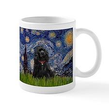 Starry Night & Black Cocker Spaniel Mug