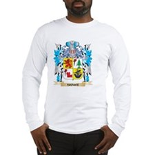 Shawe Coat of Arms - Family Cr Long Sleeve T-Shirt