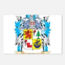 Shaw Coat of Arms - Famil Postcards (Package of 8)