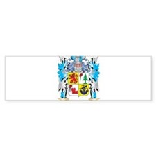Shaw Coat of Arms - Family Crest Bumper Bumper Sticker