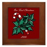 First Christmas 2006 Framed Tile
