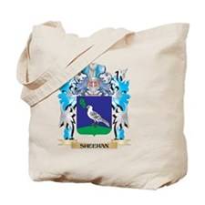 Sheehan Coat of Arms - Family Crest Tote Bag