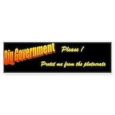 Protect me from the plutocrats Bumper Bumper Sticker