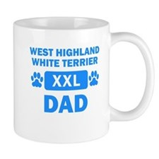 West Highland White Terrier Dad Mugs