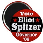 Vote Eliot Spitzer Political Magnet