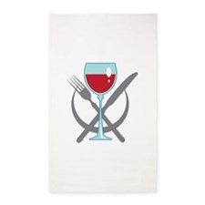 TABLE PLACE SETTING Area Rug