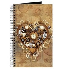 Steampunk Heart Love Journal