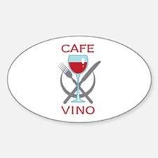CAFE VINO Decal
