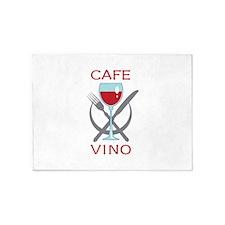 CAFE VINO 5'x7'Area Rug
