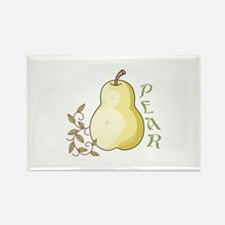 YELLOW PEAR Magnets