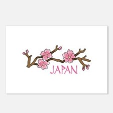 JAPAN CHERRY BLOSSOM Postcards (Package of 8)