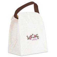 JAPAN CHERRY BLOSSOM Canvas Lunch Bag