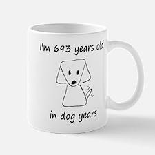 99 dog years 6 Mugs