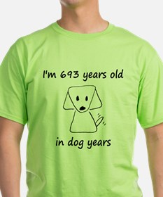 99 dog years 6 T-Shirt