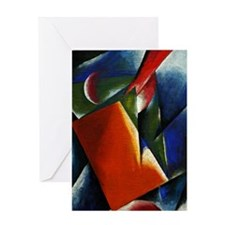 Architectonic Painting - abstract ar Greeting Card