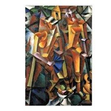 Composition with Figures Postcards (Package of 8)