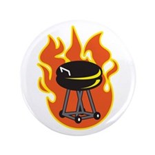 """BARBEQUE GRILL 3.5"""" Button"""
