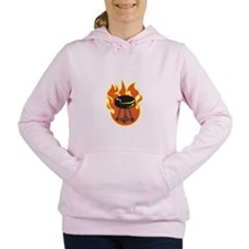 BARBEQUE GRILL Women's Hooded Sweatshirt