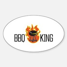 BBQ KING Decal