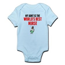 My Aunt Is The Worlds Best Nurse Body Suit