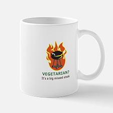 MISSED STEAK Mugs