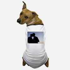 LGBT gay wedding marriage grooms kiss Dog T-Shirt