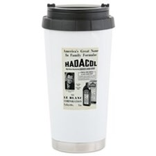 Cute Nostalgia Travel Mug