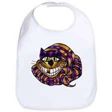 Golden Cheshire Cat Bib